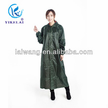 Oxford Material and Raincoats Type ladies pvc coated raincoats