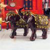 Resin customed wedding gift europe style large elephant statues