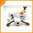 2014 new designed children toy accessories plush frozen dolls