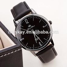 fashion business leather watches for women watches men quartz watch