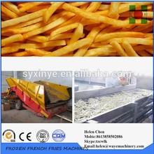 Potato Chips Production Machine/Frozen French Fries Plant/Frozen French Fries Processing Machinery