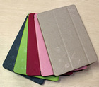 2014 hot sell genuine leather tablet cover laptop case for i pad cover