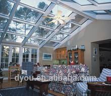 elegant sunroom roof