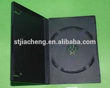 14mm black double/single dvd case