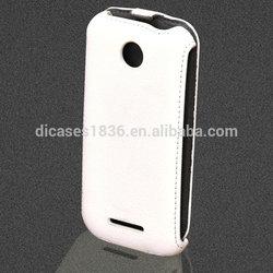 Flip PU leather back cover lenovo phone case for Lenovo A760