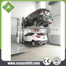 2 columns car lift parking/portable car parking system/automated car stacker parking lift