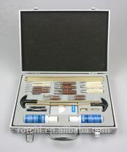 Universal gun cleaning kit , funcitional gun cleaning kit , aluminium gun case