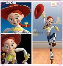 Beautiful girl doll toy/cartoon figurine/custom design female action figure