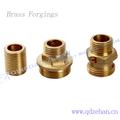 Cobre, Latão, Aço, Alumínio, Etc / pipe thread joint parte / forjado encaixe de tubulação