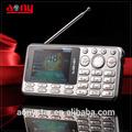 2.4 pulgadas de nuevo diseño de teléfono celular con tv led, low end teléfono celular