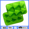 Promotional China Factory food grade christmas tree silicone cake moulds