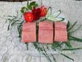 rosa salmão congelado peixe porção