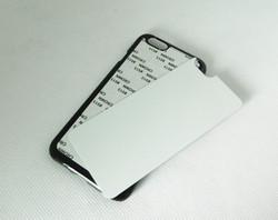 "For IPhone 6 4.7 "" 5.5"" sublimation case with aluminium plate pc+aluminium sheet DIY blank aluminum phone back case cover"