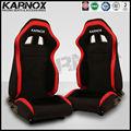 kumaş jdm tarzı sabit uzanmış ve devirme sürüklenme spor yarış arabası koltukları