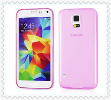 0.3mm Super Thin Case for Samsung Galaxy S5 i9600 Transparent Soft TPU Perfect Fitting Back Clear Cover