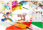 Finger Painting Set Finger paint set DIY paint kit stationery set for kids