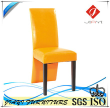 2014 Wooden Frame PU Leather Covers Used Tables and Dining Chairs For Restaurant