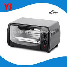 110V UL ETL Approval 4 slice 9L mini electric oven promotional