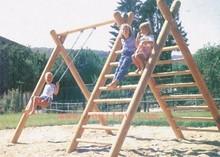 wooden swings LY-044B