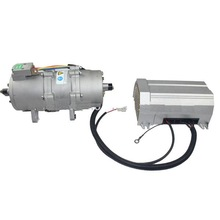electric dc scroll compressor for automotive air conditioning