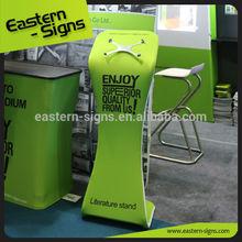 Lightweight pop up Ipad Kiosk Stand