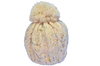 China wholesale different types of knit hats with pom pom on top