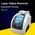 Buena efectiva! Q interruptor nd yag láser de eliminación de tatuajes sistema / eliminación de tatuajes con láser sistema
