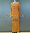2014 new design muslim baju kurung fashion hijab evening dress