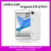 5.5inch ZTE Q701C Qualcomm Snapdragon MSM8612 Quad Core 1.2GHz 1GB RAM 4GB ROM cameras cdma gsm android mobile phone