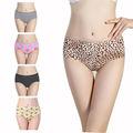 hot sexy calcinha sem costura da menina com estampa de leopardo senhora mulheres de lingerie sem costura bonita meninas calcinha meninas calcinha apertada