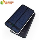 Super Intelligent Touch Screen Frosted Outshell Dual USB 12000mah Solar Power Bank Charger for Cellphones