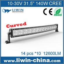 Liwin Wholesale High Quality Led Bar140W lw Led Light Bar LW BCS140W curved mini snowmobile