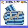 Manufacture Baby Tote Bag Stripes Tote Diaper Bag Durable Diaper Totes OEM