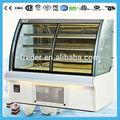 Comercial vitrine bolo/e bolo de padaria vitrine/padaria vitrine de refrigeração