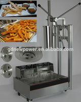 2015 hot selling high quality churro machine and fryer