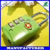 TSA-302 high quality traveller set password reset suitcase padlock