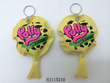 whoopee cushion with keychains POO-POO cushion farting bag joke toys promotional gift