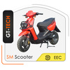 electric scooter 1000w 48v with different specification tire