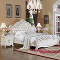 la oferta del fabricante de estilo europeo talla de madera conjuntos de dormitorio