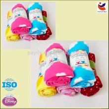 hot sale new fashion 7-color blankets/wholesale fleece blankets wholesale