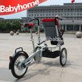 la madre de cochecito de bebé moto bicicleta paseo
