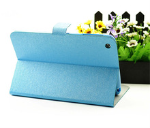 Allrounded stand flip leather minion case for ipad mini