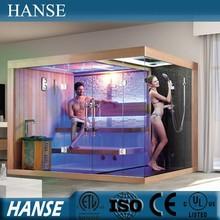HS-SR1388Y stean shower room sauna/ indoor steam sauna/ luxury steam sauna room