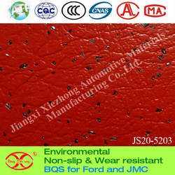 Cute Red Vinyl Sheet floor mats for Ford/Benz/BMW/Yutong/BYD/KIA/Renault