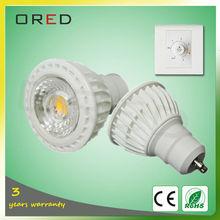 led light house decor spot light gu10 led bulb lights dimmable 5w