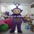 Hola filme teletubby mascote fantasias adulto