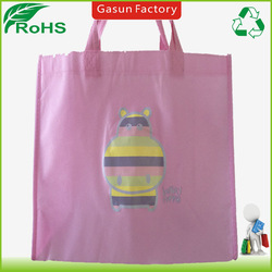 Best quality hot stamping print non woven tote bag