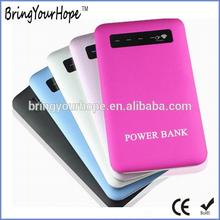 Hot selling best buy ultra thin slim portable external power bank 4000mah for smartphone (XH-PB-023)