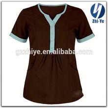 latest fashion plus size nurse uniform for hospital