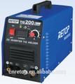 tig-200a جودة عالية العاصمة العاكس لحام tig آلة أرغون